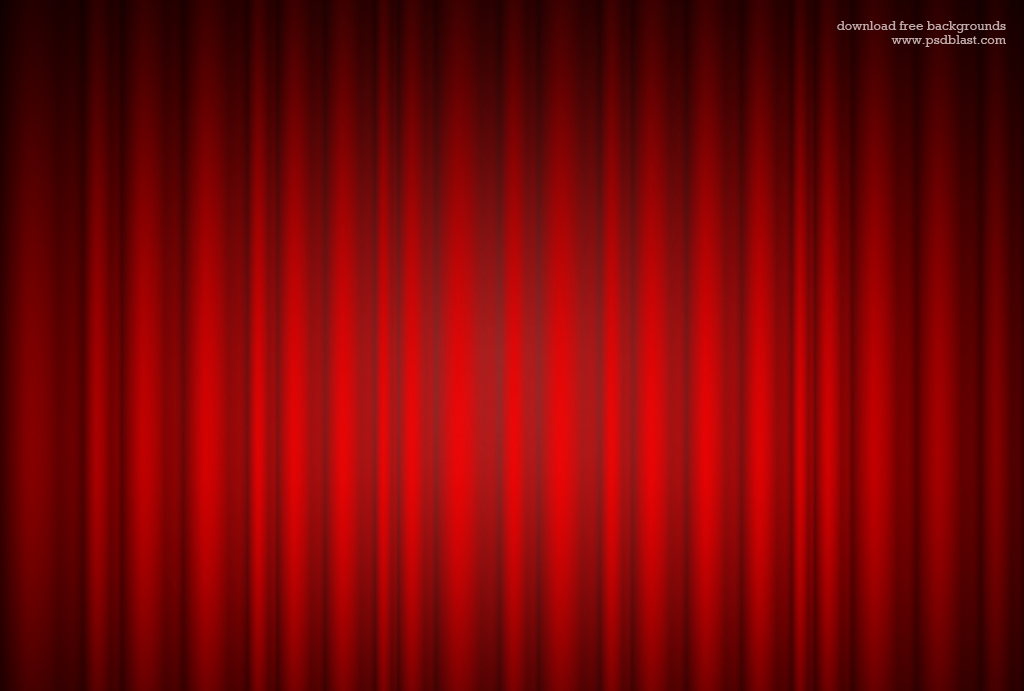 Red Curtain Background Psdblast