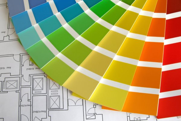 Color plan for an ecommerce website